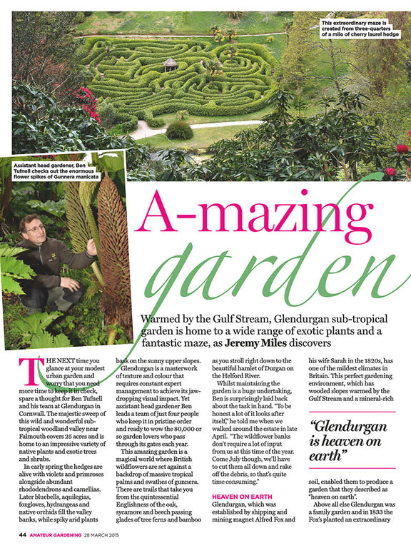 Amateur Gardening Magazine screenshot
