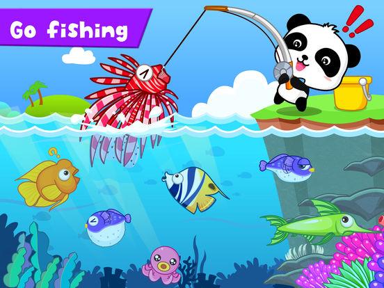 Happy Fishing: Game for children iPad Screenshot 2
