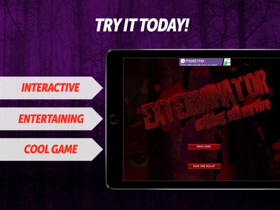 Exterminator - Shooter Sound Massacre! iPad Screenshot 1