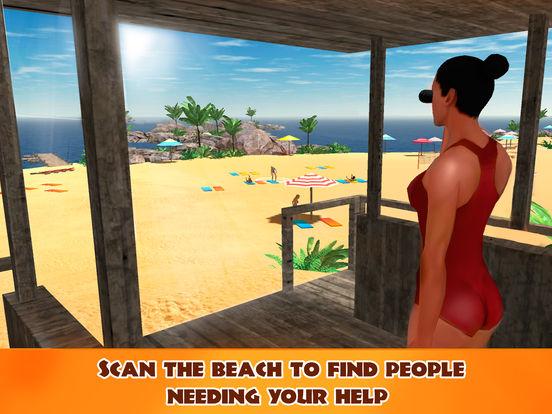 Beach Lifeguard Emergency Rescue 3D Full screenshot 7