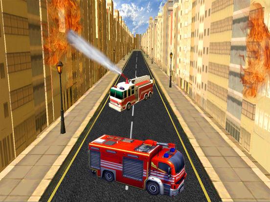 Fire Brigade Truck Simulator 2016 screenshot 9