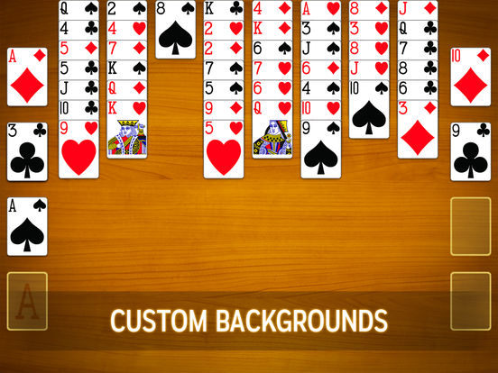 Screenshots of FreeCell Free for iPad