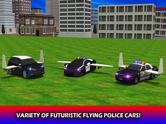 Flying Future Police Cars Pro screenshot 8