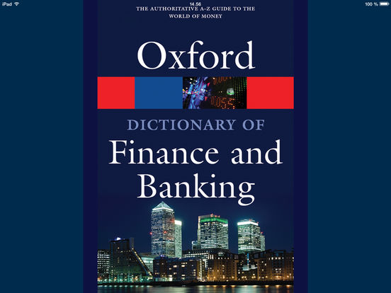 Oxford Dictionary of Finance and Banking:在 App Store 上的内容