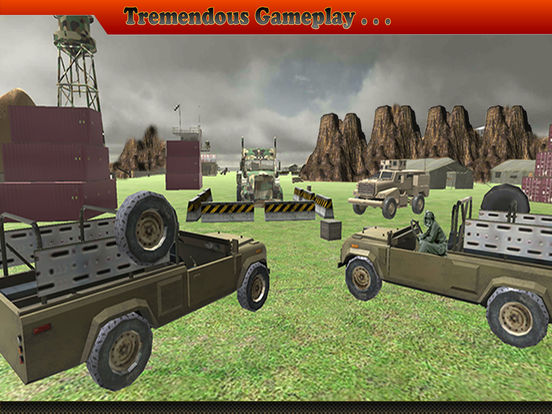 Army Cargo Truck Driving Pro Screenshots