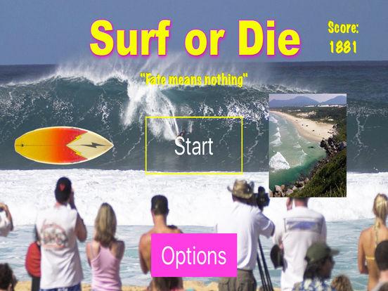 Surf or Die iPad Screenshot 3