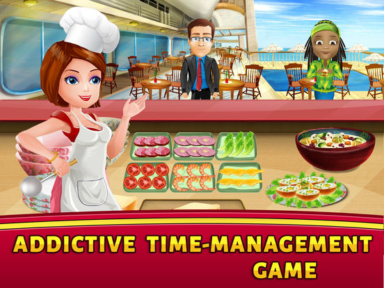 Скачать игру Cruise Ship Cooking Scramble: Master Chef Fever