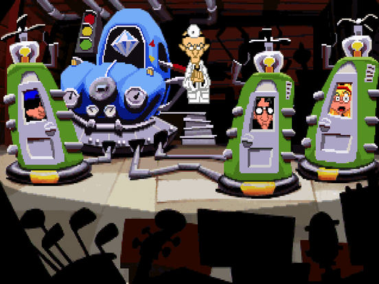 Игра Day of the Tentacle Remastered