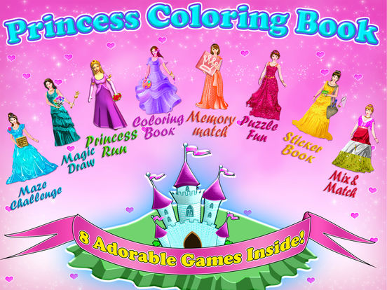 Princess Coloring Book - Draw, Paint & Color Games on the App Store