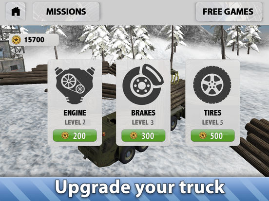 Скачать Winter Logging Truck Simulator 3D Full