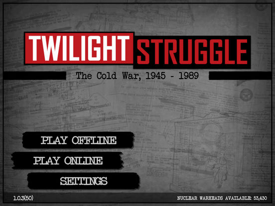 Twilight Struggle Screenshots