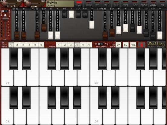 Screenshot #2 for Galileo Organ