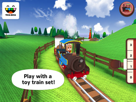 Toca Train Screenshots