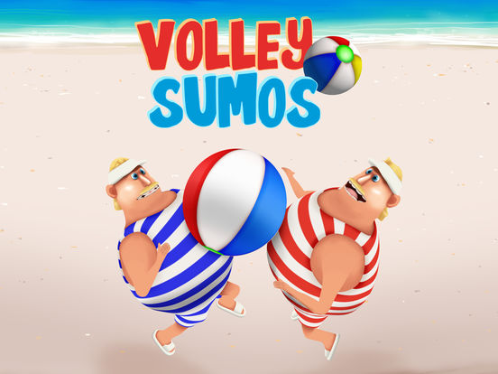 Volley Sumos - Two-player versus game Screenshots