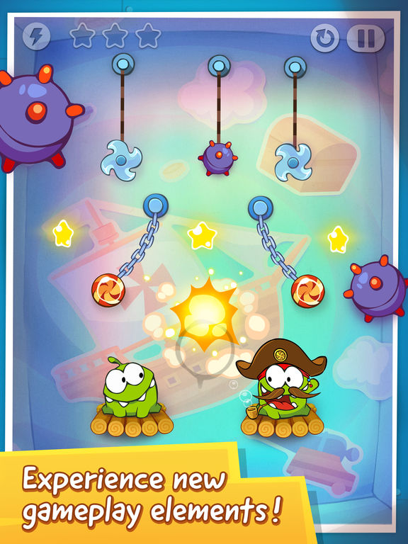 Screenshot #3 for Cut the Rope: Time Travel Free