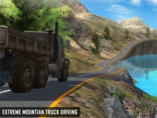 Скачать игру Off Road Cargo Truck Driver - Extreme mountain transporter truck driving