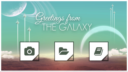 Greetings from the Galaxy — Turn your Photos into Amazing Postcards for No Man's Sky Screenshot