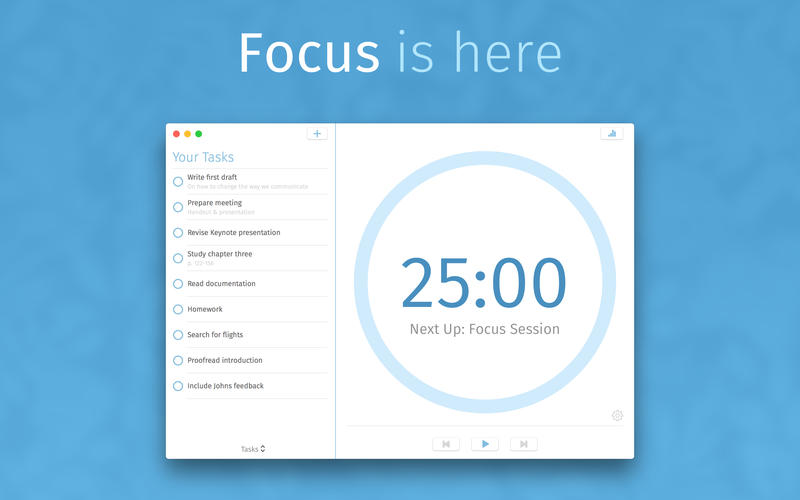 Focus - Productivity Timer for Mac