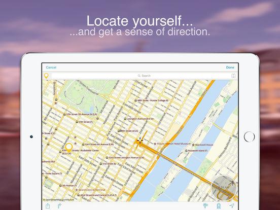 Paris on Foot : Offline Map Screenshots