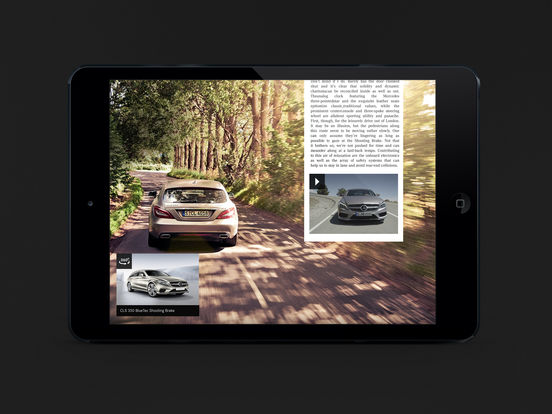 Mercedesmagazine iPad Screenshot 3