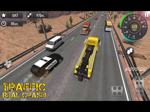 Скачать Real Racer Crash Traffic 3D