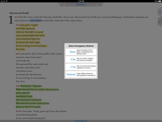 Message Bible iPad Screenshot 3