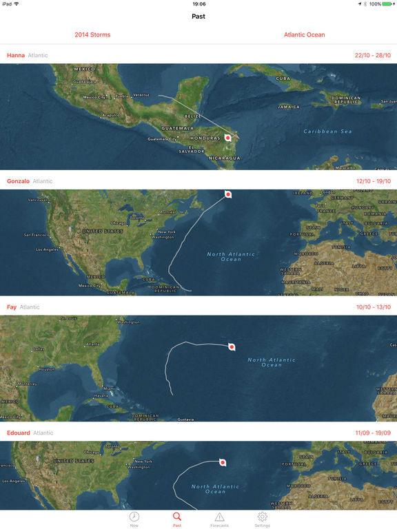 My Hurricane Tracker - Tornado & Hurricane Warning screenshot