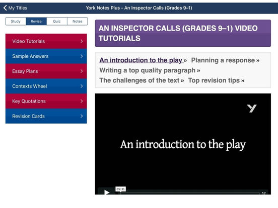inspector calls notes An inspector calls: york notes for gcse (9-1) by john scicluna, 9781447982166, available at book depository with free delivery worldwide.