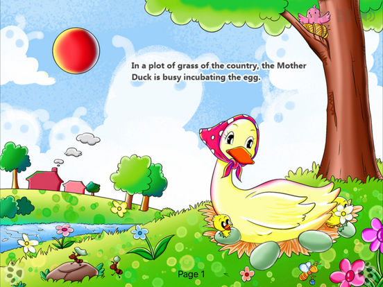 iBigToy-The Ugly Duckling HD Lite iPad Screenshot 2