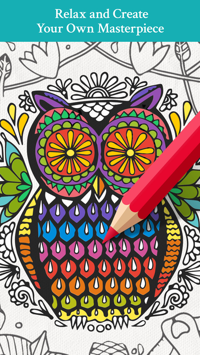 Coloring Games for Adults - Art of Mystery on the App Store
