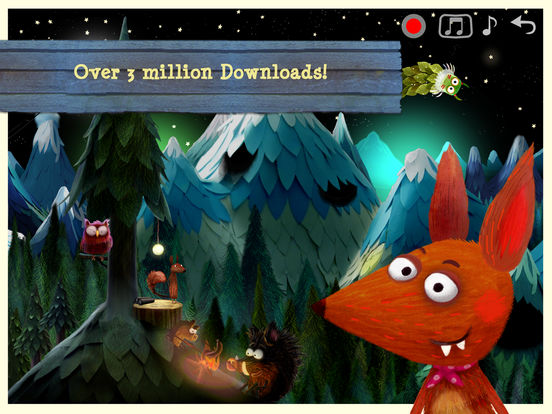 Little Fox Music Box  - Sing along fun for kids Screenshots