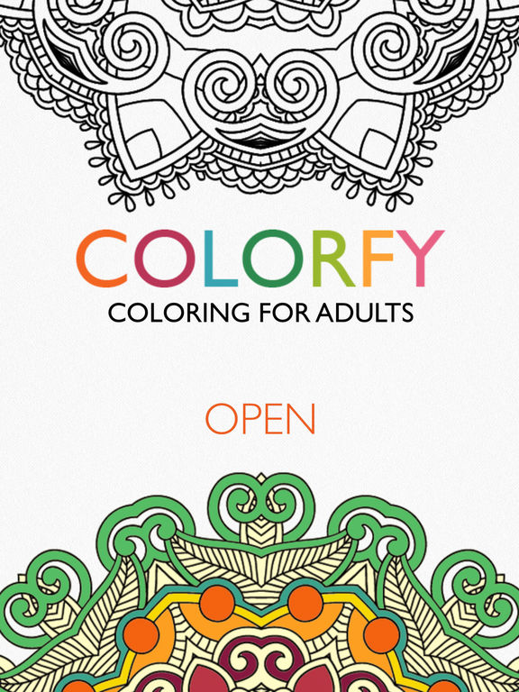 coloring book app colorfy coloring book for adults free on the app store