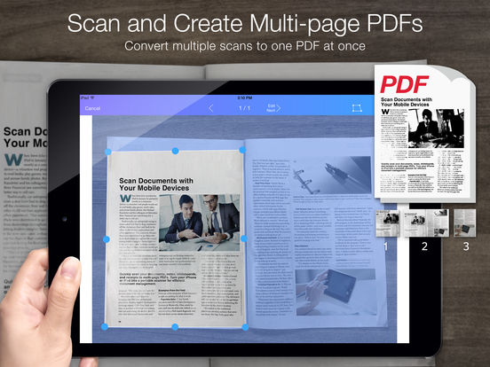 Pocket Scanner Ultimate - Scan Documents to PDFs Screenshots