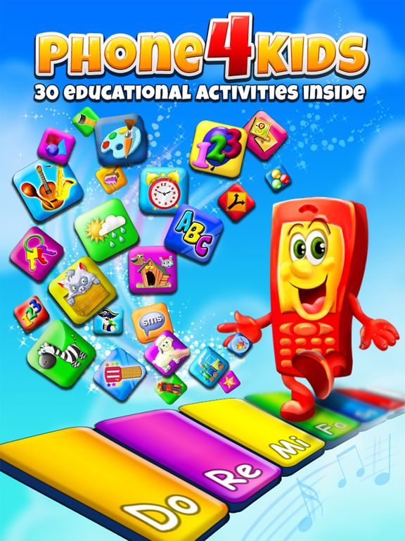 Phone for Kids – All in One Activity Center for Children HD screenshot