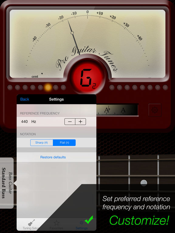 Pro Guitar Tuner - by ProGuitar.com Screenshots
