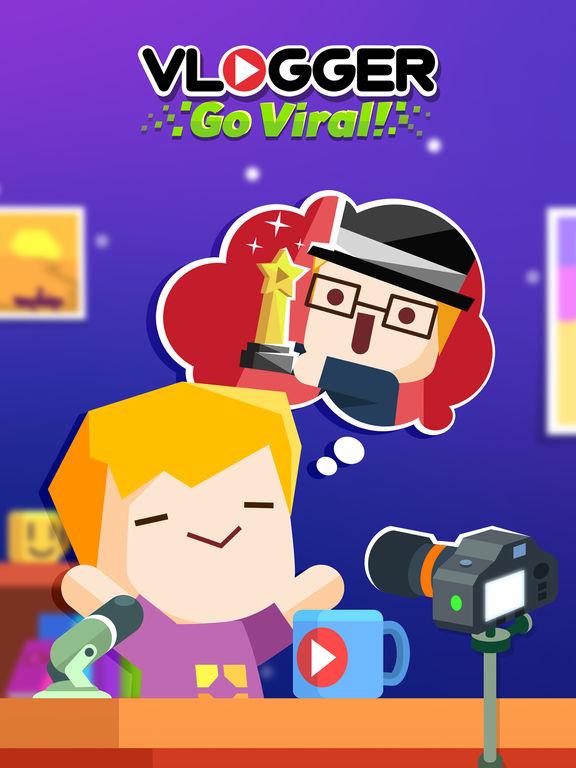 Vlogger Go Viral - Clicker Game & Vlog Simulatorscreeshot 5