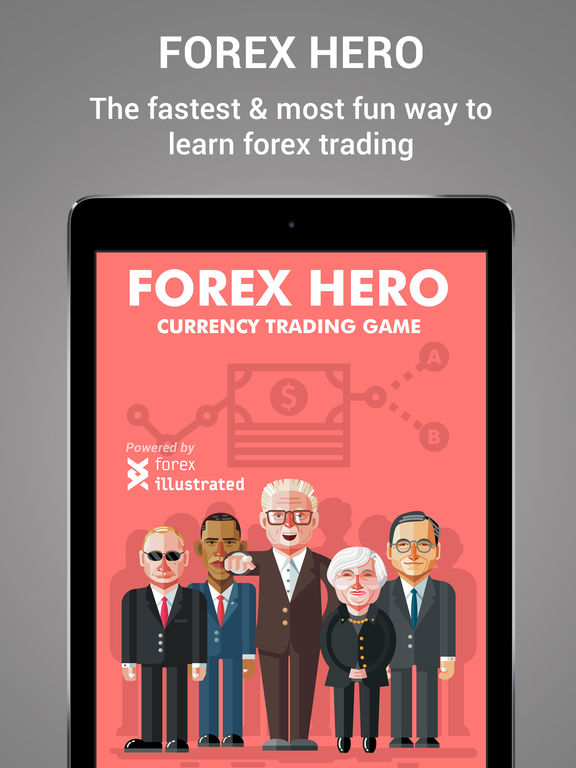 Forex Hero – trading game for beginners screenshot
