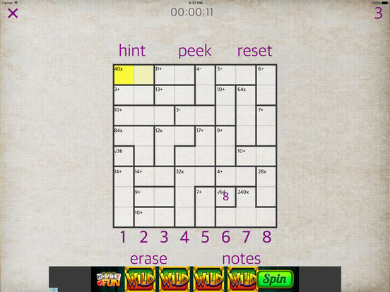 Sudoku Math iPad Screenshot 4