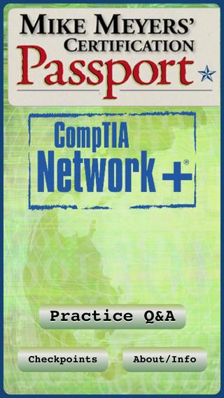 CompTIA Network+ Mike Meyers' Certification Passport iPhone Screenshot 1