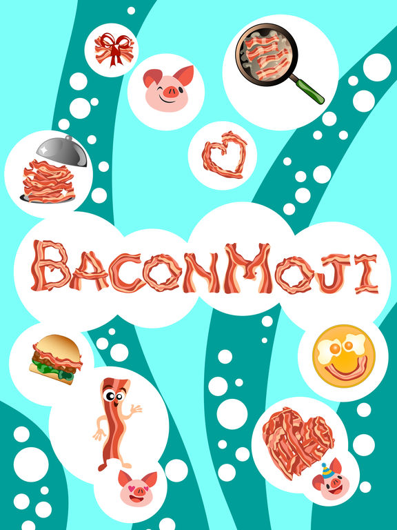 BaconMoji for iOS brings an app full of mouth-watering bacon emoji Image