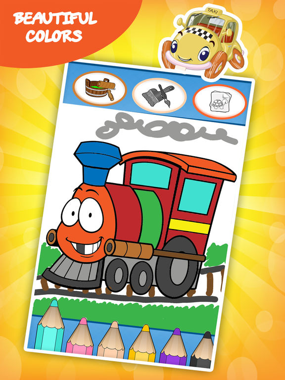 Cars coloring book for toddlers: Kids drawing, painting and doodling games for the children