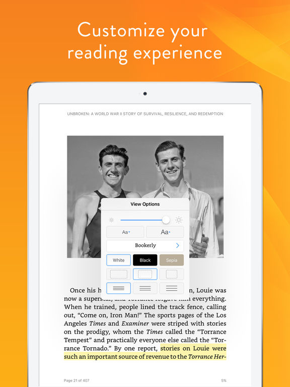 Kindle – Read Books, eBooks, Magazines, Newspapers & Textbooks screenshot