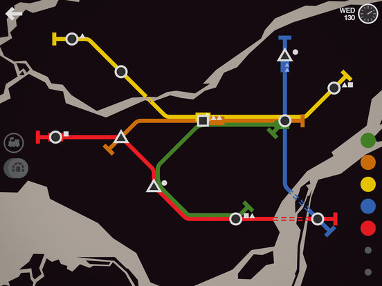 Mini Metro Screenshots