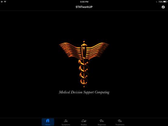 STATworkUP iPad Screenshot 1