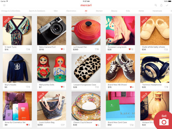 Mercari: The best shopping marketplace to buy & sell Screenshots