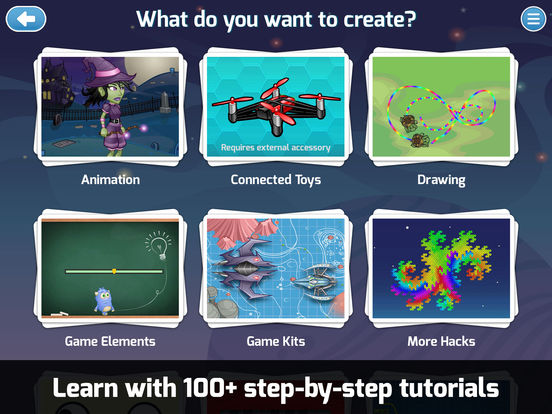 Tynker for Schools - Coding for kids. Learn programming to make games, control robots and fly drones. Screenshots