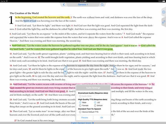 The ESV Bible iPad Screenshot 1