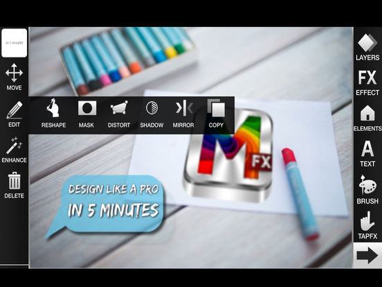 MasterFX HD - Design like a PRO in 5 minutes Screenshots