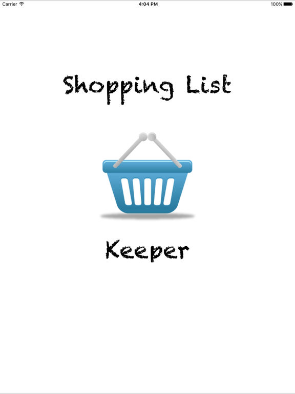 Shopping List Keeper Screenshots
