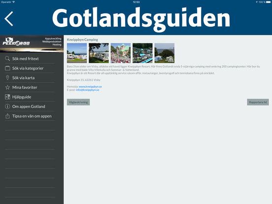 Gotland iPad Screenshot 4
